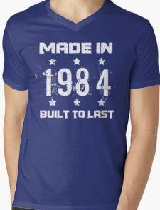Made In 1984 Birthday T-Shirt Mens V-Neck T-Shirt