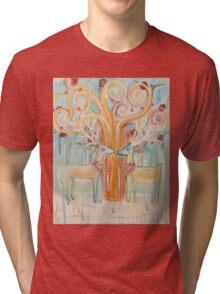 Deer Spring Tri-blend T-Shirt