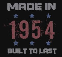 Made In 1954 Birthday T-Shirt T-Shirt