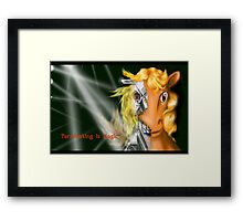 Terminating is Magic Framed Print