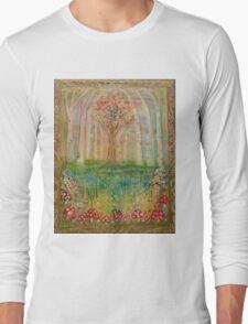 Natural Tree Cathedral Long Sleeve T-Shirt