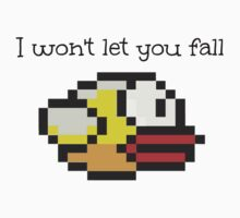 Flappy Bird I won't let you fall by WeLovePixels