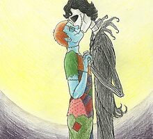 Johnlock- The Nightmare Before Christmas by BoricuaGirl08