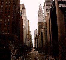 Looking West Down 42nd Street by Amanda Vontobel Photography/Random Fandom Stuff