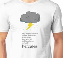 Cloudy With A Chance Of Hero Unisex T-Shirt