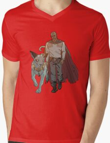 The Will and Lying Cat Mens V-Neck T-Shirt