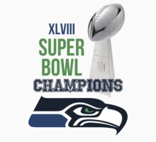 SEAHAWKS SUPERBOWL CHAMPIONS by Collasoul