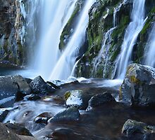 Middle McCloud Falls by Tracy Jones