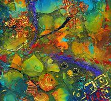 An Aquatic Wine Party by © Angela L Walker
