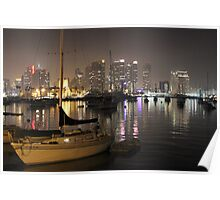 San Diego Bay Boats Poster