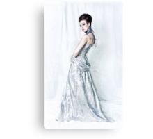 The Socialite Canvas Print