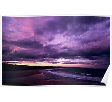 Delights Of Dusk - Short Point - Merimbula Poster