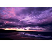 Delights Of Dusk - Short Point - Merimbula Photographic Print