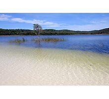The lake. Photographic Print