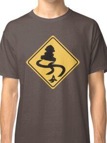 Slippery Road - Mario Kart Classic T-Shirt
