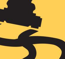Slippery Road - Mario Kart Sticker