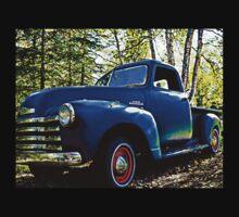 Old Blue Truck Kids Tee