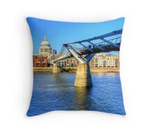 St Pauls Cathedral, London Throw Pillow