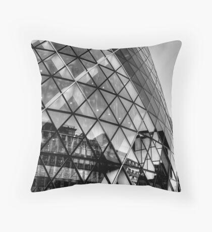 The Gherkin, London Throw Pillow