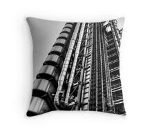 Lloyds Building, London Throw Pillow