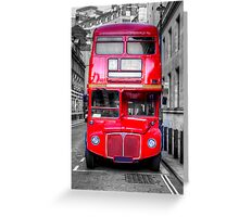 London Routemaster Greeting Card