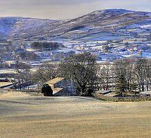 Wensleydale by English Landscape Prints