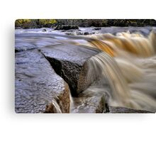 The River Swale Canvas Print