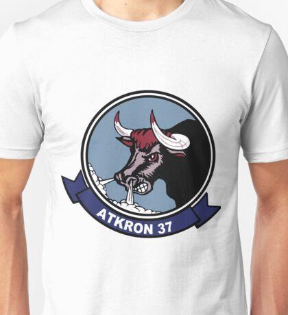 VFA-37 (VA-37) Raging Bulls Patch Unisex T-Shirt