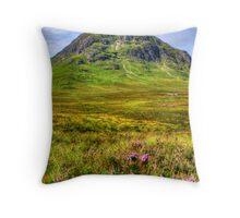 Buachaille Etive Mor, Glencoe Throw Pillow
