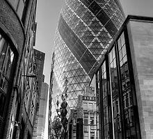 London Gherkin, London by Stephen Smith