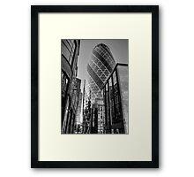 London Gherkin, London Framed Print