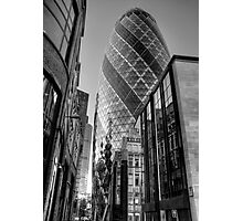 London Gherkin, London Photographic Print