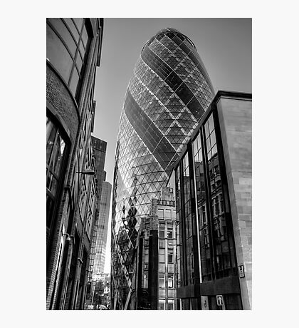 London Gherkin, London Photographic Print