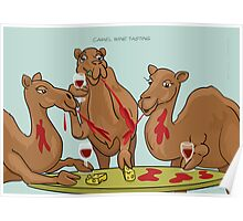 Camel Wine Tasting Poster