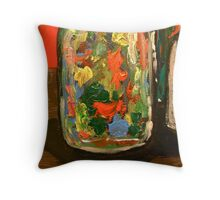 Bottles (part 1) Throw Pillow