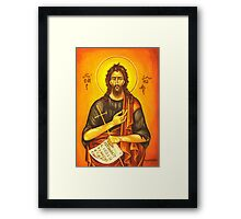 Saint John Framed Print