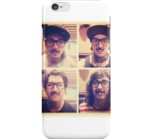 Pierce The Veil with Mustaches! iPhone Case/Skin