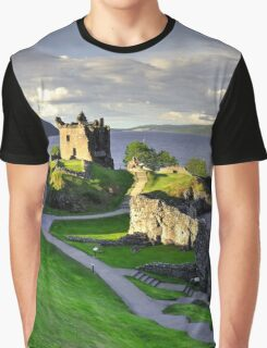 Urquart Castle  Graphic T-Shirt