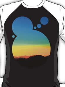 Colorful sundown scenic view | landscape photography T-Shirt