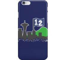 12th Man Skyline iPhone Case/Skin