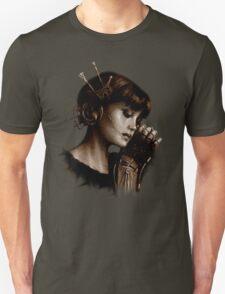 Steampunk victorian automaton steamgirl  T-Shirt