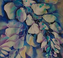 Watercolour: Winsome Wisteria by Marion Chapman