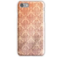 Vintage Patterned Wallpaper 04 iPhone Case/Skin