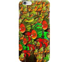 In The Tank - Divaswinicus and a Group of Passing Divaskimmers iPhone Case/Skin