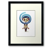 Your Cute Little Domestic Robot Framed Print