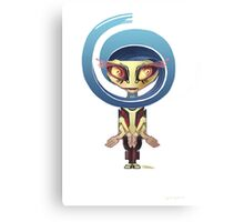 Your Cute Little Domestic Robot Canvas Print