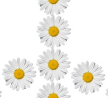 flower power, peace and love Sticker