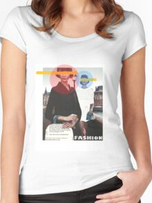 Fashion Collage Women's Fitted Scoop T-Shirt