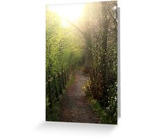 Nature's path Greeting Card