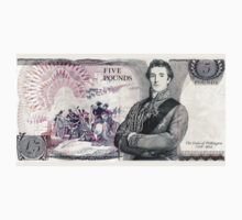 British Five Pounds Note (Back) by CrazyAsia